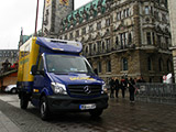 Mit Taxi Lieschke Thermosprinter in Hamburg